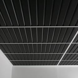 black pvc tiles