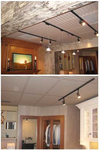 Installed photos of Southland Ceiling Tile