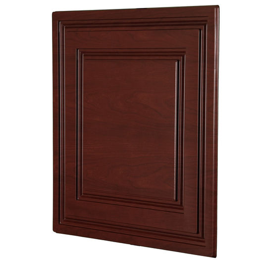 Stratford vinyl ceiling tile cherry wood by ceilume angled view of a cherry wood stratford ceiling tile jeuxipadfo Choice Image
