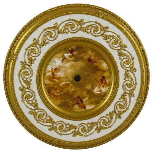 Michelangelo Ceiling Medallion Gold