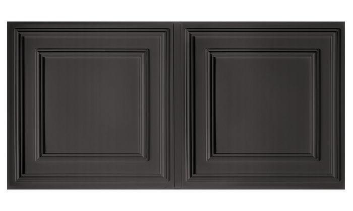 Cambridge 2x4 Black Ceiling Tile