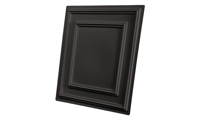 Cambridge 2x2 Black Ceiling Tile