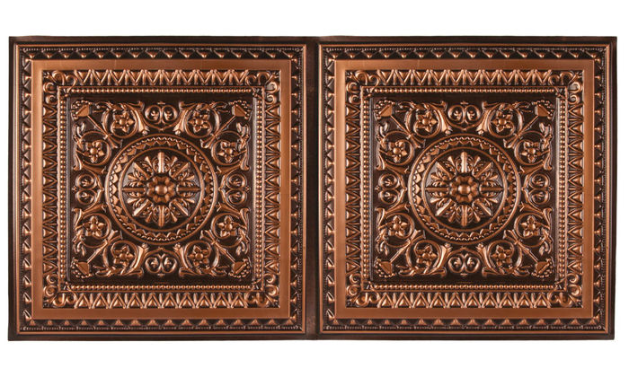 Milan 2x4 Antique Ceiling Tile