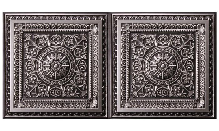 Milan 2x4 Antique Ceiling Tile