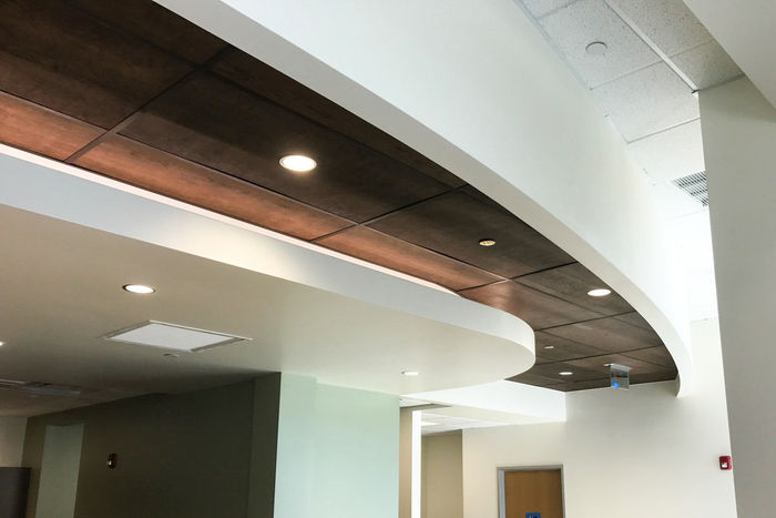 2x4 Wood Ceiling Tile Installation