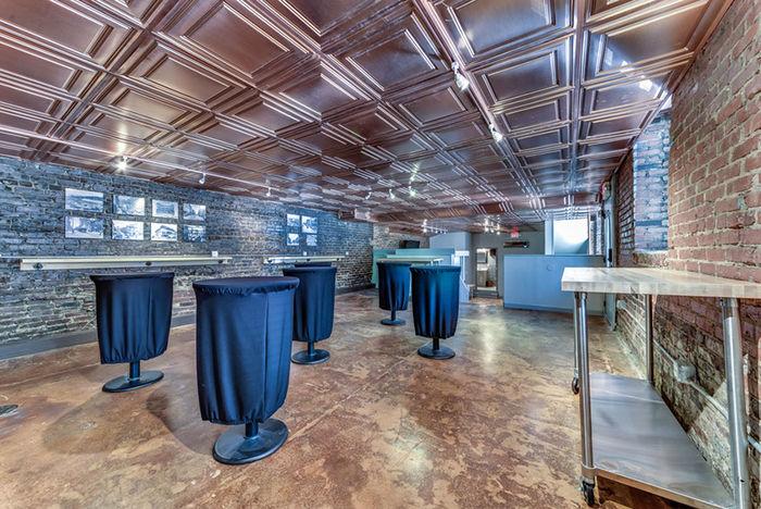 Copper Restaurant Ceiling Tile