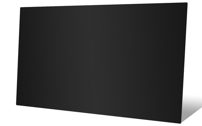 Black smooth ceiling tiles