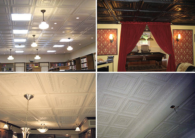 Customer Pictures of the Empire Decorative Ceiling Tile