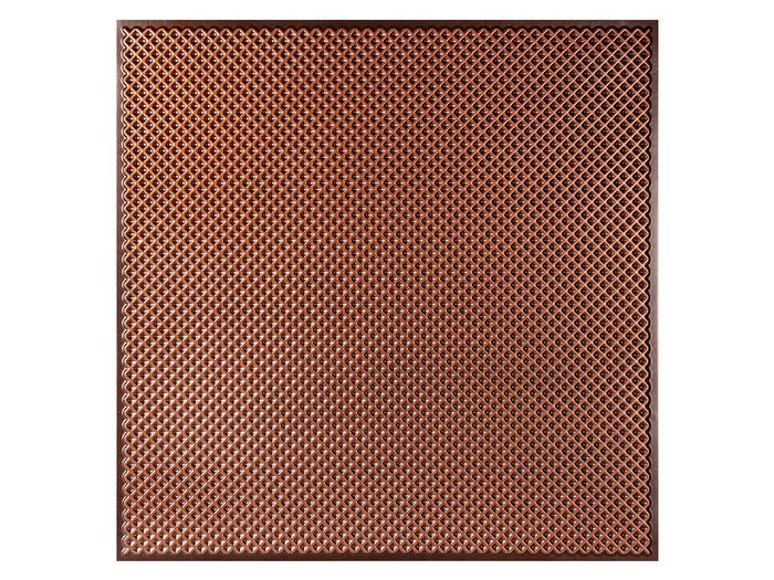 Antique Copper 2x2 Border Ceiling Tile