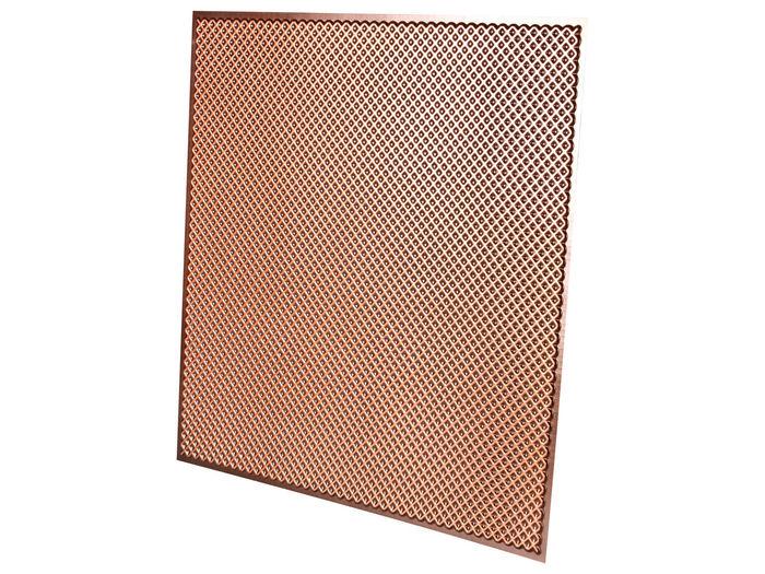 Profile of Antique Copper 2x2 Border Ceiling Tile