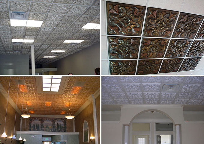 Customer Photos of Florentine Ceiling Tile