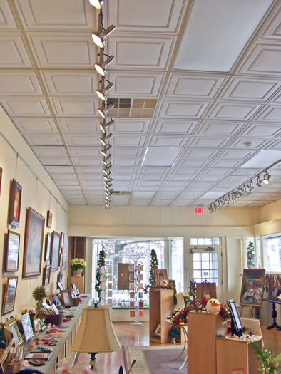 Stratford Ceiling Tile Installation in a Retail Store Ceiling