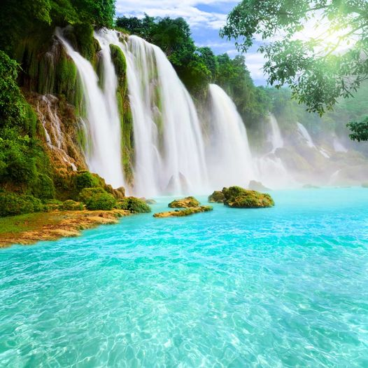 Peaceful Waterfalls