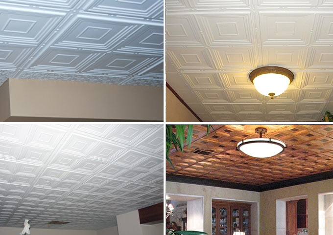 Customer Photos of Jackson Ceiling Tile