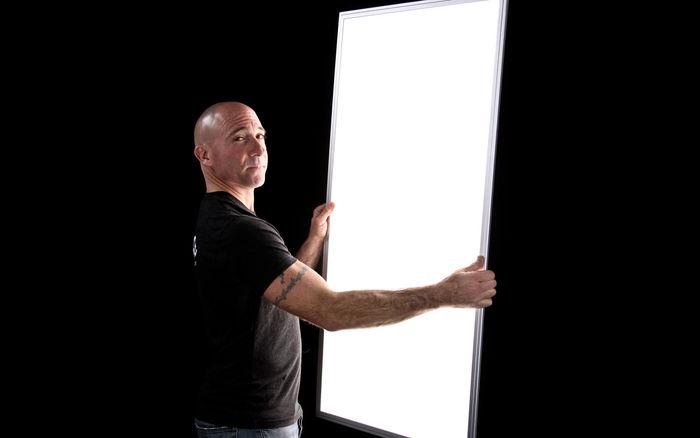 2x4 LED Light Panel Brightness