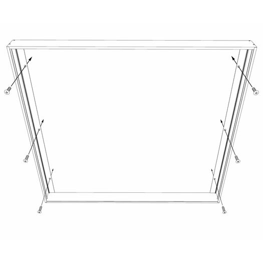 LED Surface Mount Frame