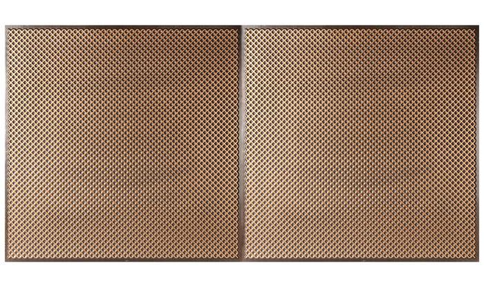 Antique Gold 2x4 Border Tile