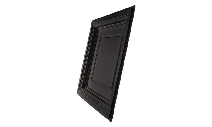 Side Profile of Madison Black Ceiling Tile