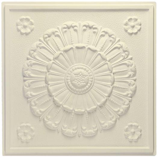 Medallion Sand Ceiling Tile