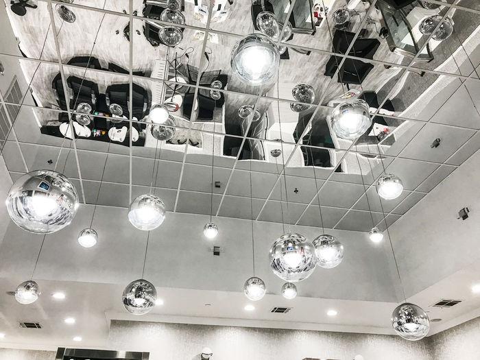 2x2 Silver Mirror Ceiling Tile