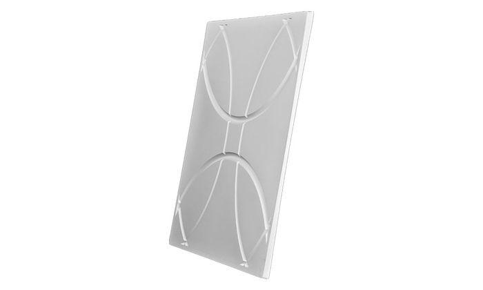 Orb 2x2 White Ceiling Tile
