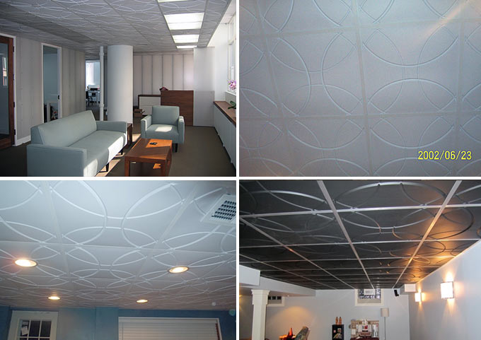 Customer photos of Orb Ceiling Tile