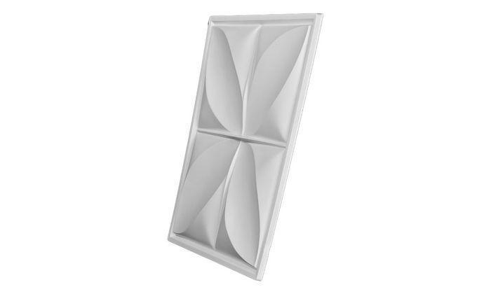 Petal White Ceiling Tile