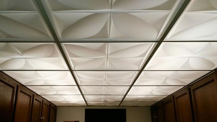 2x2 Petal Translucent Ceiling Tile