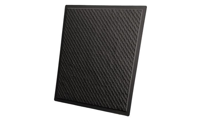 Rattan 2x2 Black Ceiling Tile