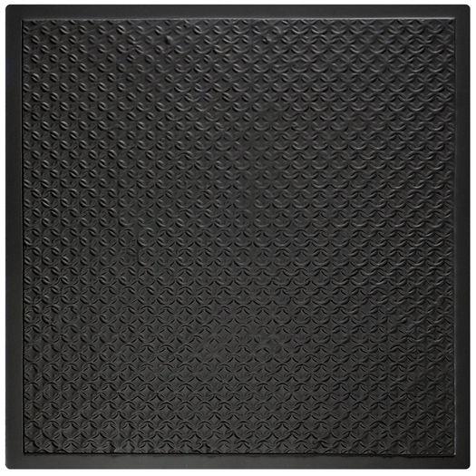 Rattan Black Ceiling Tile