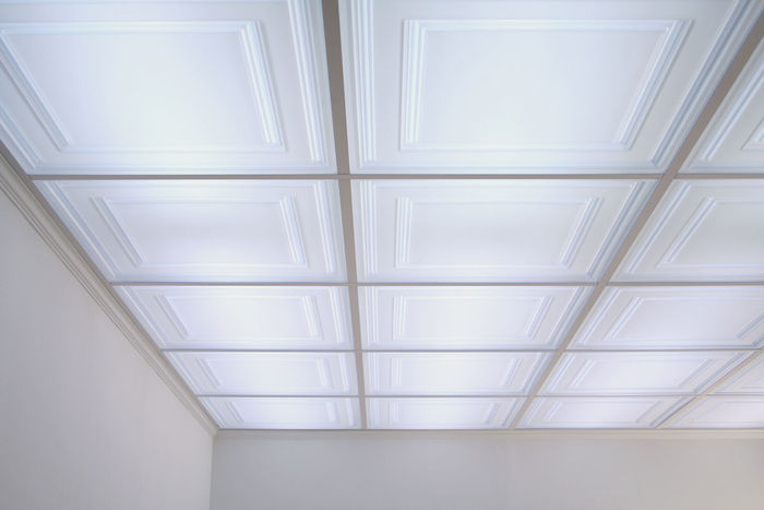 Stratford translucent by ceilume translucent tiles installed in ceiling doublecrazyfo Choice Image