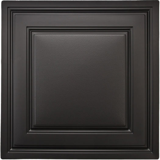 Black Stratford Ceiling Tile