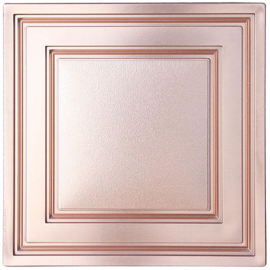Faux Copper Stratford Ceiling Tile