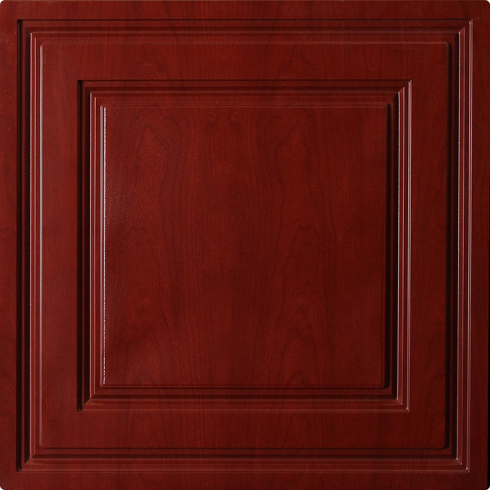 Stratford Vinyl Ceiling Tile Cherry Wood By Ceilume