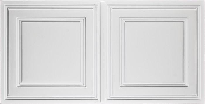 Stratford : Vinyl Ceiling Tiles : White 2x4 Ceiling Tiles