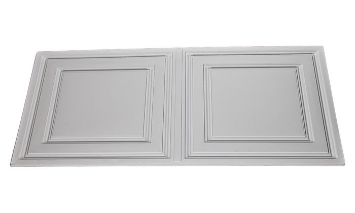 Side white  2x4 ceiling tiles