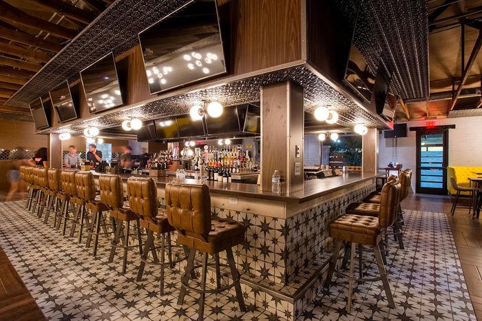 Verona used as a Bar Ceiling tile