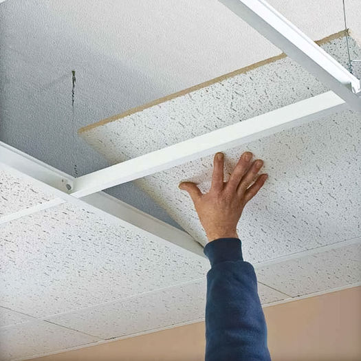 Vinyl Suspended Ceiling Systems Acoustic Ceiling
