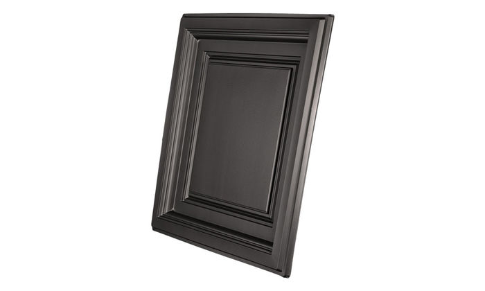 2x2 Coffered Black Ceiling Tile