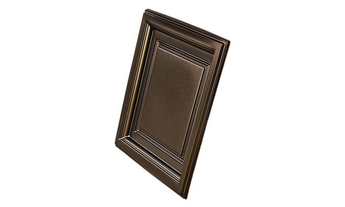 Westminster Bronze Coffered Ceiling Tile