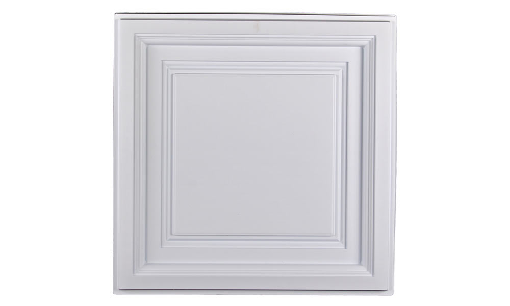 Westminster Coffered Ceiling Tiles White