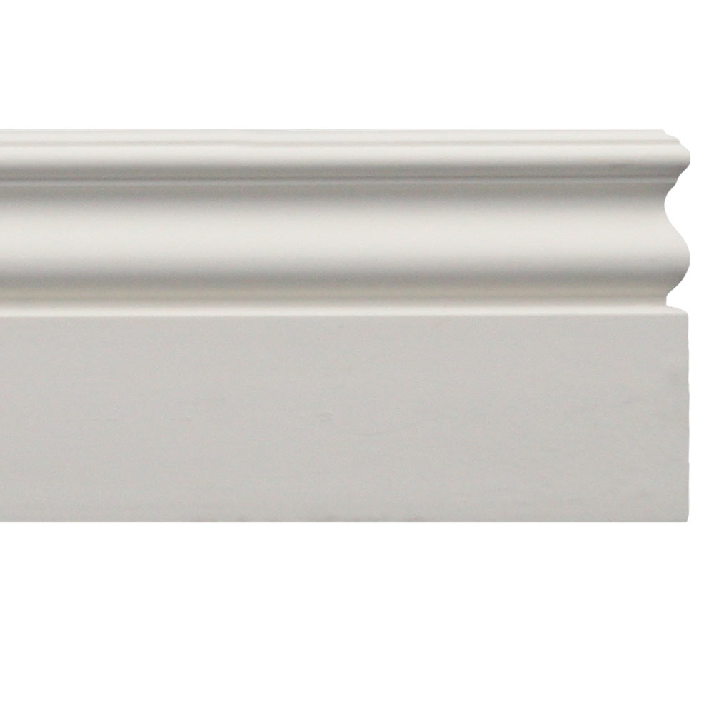 White Baseboard Molding Waterproof Moulding Bb 9769 Udecor