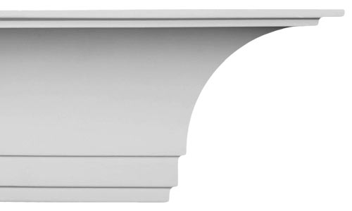Cove Crown Molding | Cornice Moulding CM-1144 - uDecor