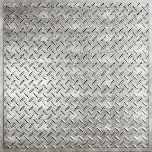 diamond plate metallic border - photo #8