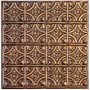 Verona Ceiling Tile - Antique Copper