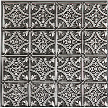 Verona Ceiling Tile - Antique Silver