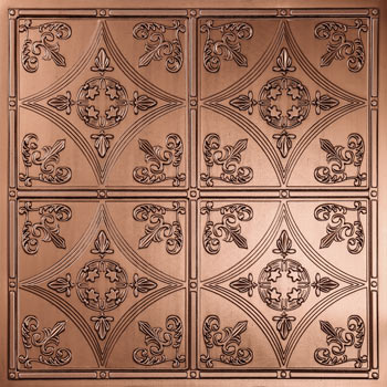 Cathedral Ceiling Tile - Bronze