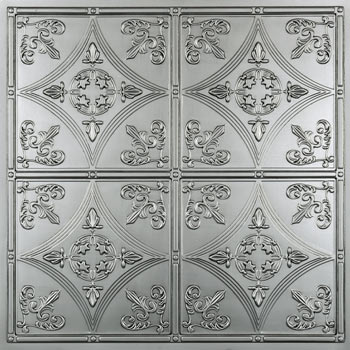 Cathedral Ceiling Tile - Nickel