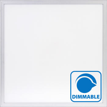 2'x2' LED Flat Light Panel White Frame - Dimmable - 3 color spectrums available
