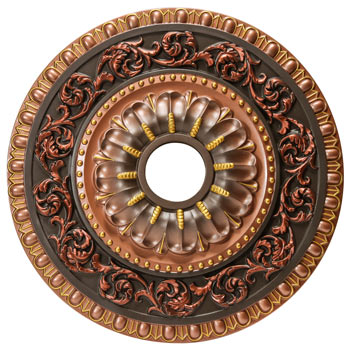 MD-7047 Fall Bronze Ceiling Medallion